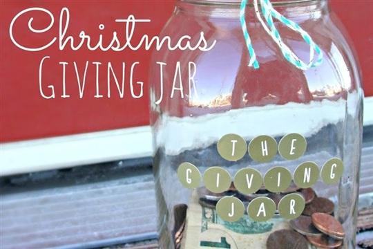 The Christmas Giving Jar