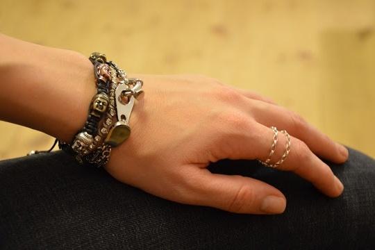 DIY buddha bracelet