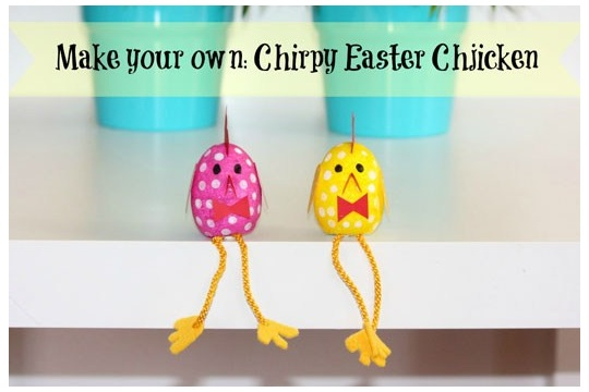 Make your own ~ Chirpy Easter Chickens