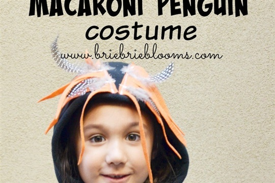 Diy Macaroni Penguin Costume Craftsmile