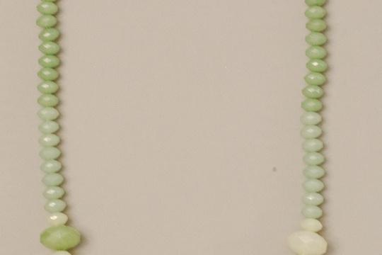 DIY ombre necklace