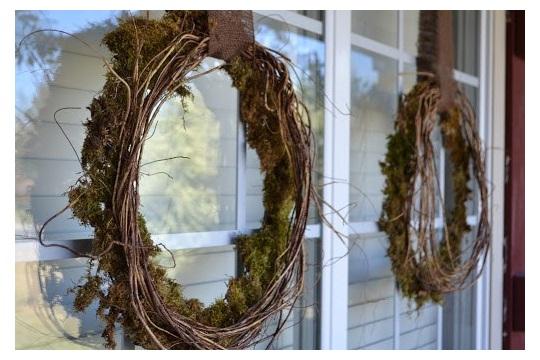 Make Moss Wreath