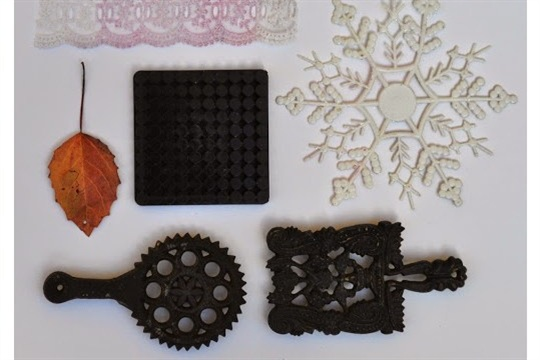 Moldable Printing Stamps