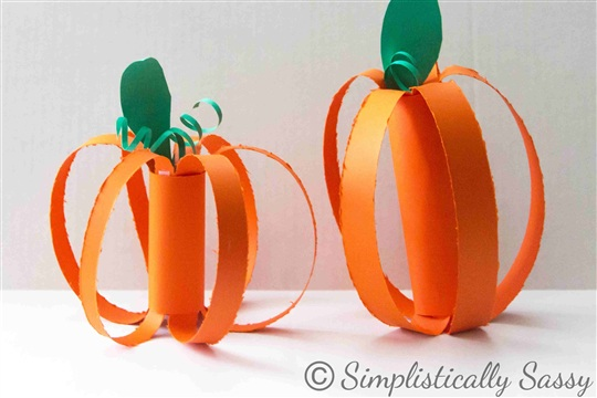 Bell Spiders and Paper Pumpkins