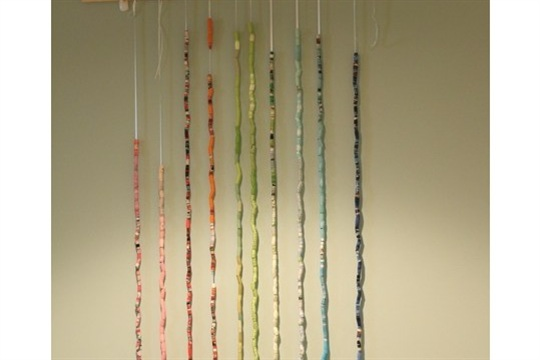 TUTORIAL Paper Bead Backdrop