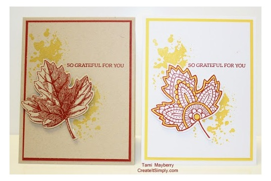 Changing one element makes CAS both vintage and modern Create It Simply with Tami Mayberry