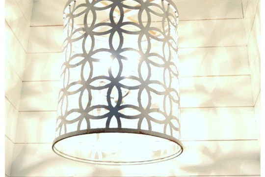 DIY Light Fixture...from a drum Make It and Love It