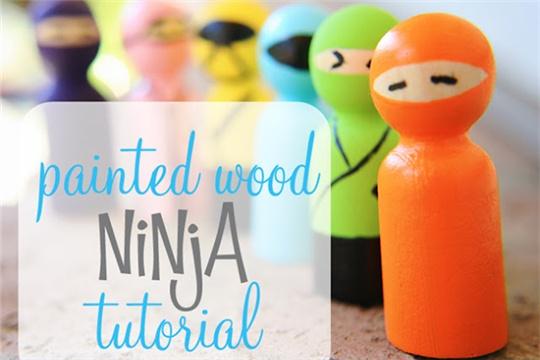 Garden ninjas   quick DIY