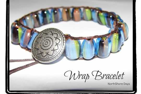 Gorgeous wrap bracelet by Natalie