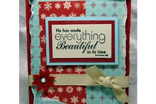 Unity Card and Scrapbook page Create It Simply with Tami Mayberry