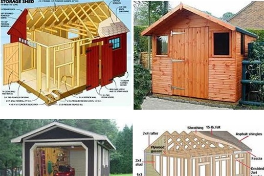 How To Build A Storage Shed From Scratch - CraftSmile