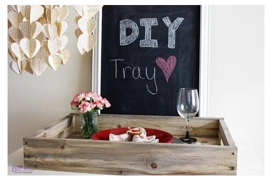 DIY Rustic Tray {Building}