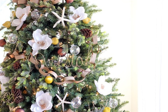 Floral Christmas Tree Michaels Makers Dream Tree 2015