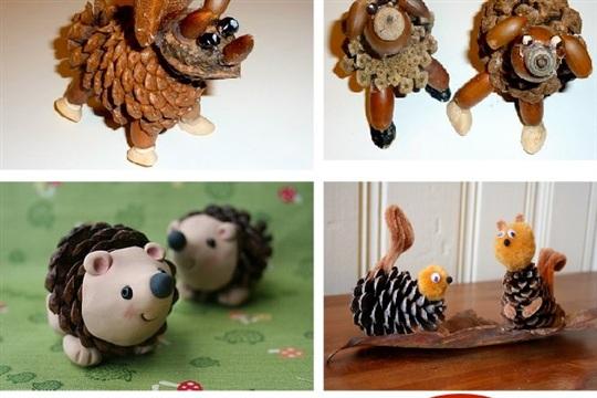 Nature Walk Craft Pine Cone Pets