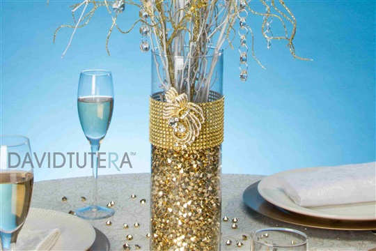 Gold Bling Branch Centerpiece Live.Craft.Love.