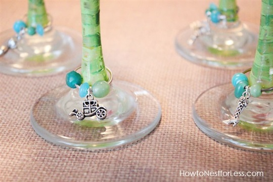 Handmade Wine Glass Charms How to Nest for Less?
