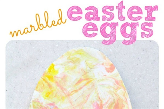 Marbled Easter Egg Painting I Can Teach My Child!