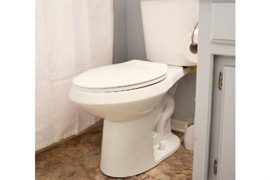 New, Push Button Toilet Installation Tutorial
