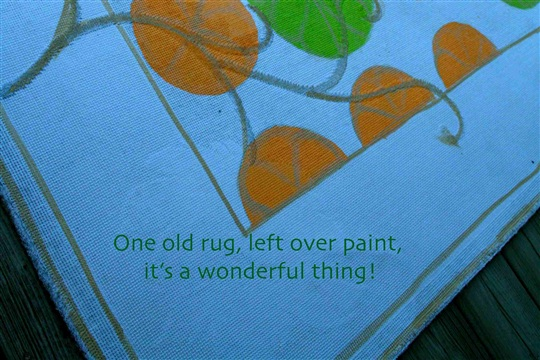 The Painted Rug