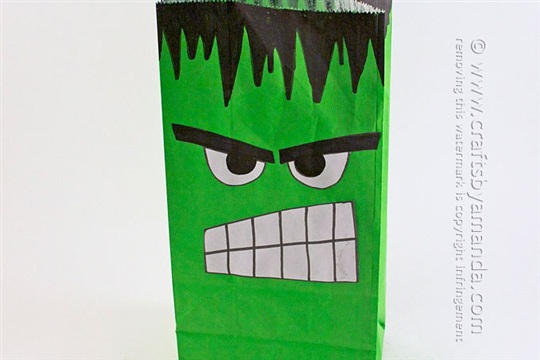 The Avengers Hulk Party Bag