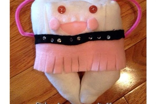 The Nifty Thrifty Family Tooth Pillow