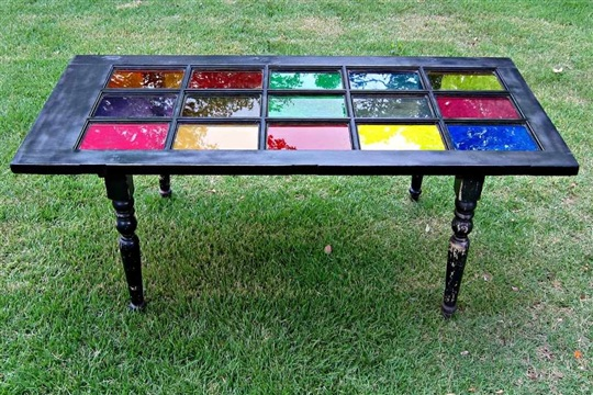 Don't Trash It! How to Repurpose a Door into a Table