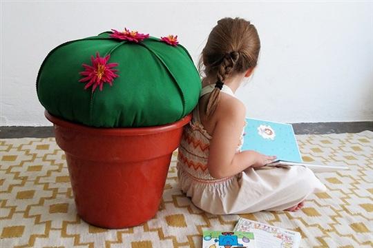 diy and crafts: DIY Cactus stool