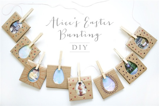 Alices Easter Bunting DIY