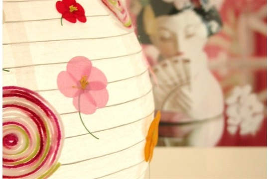 Modern Country Customized Paper Lanterns