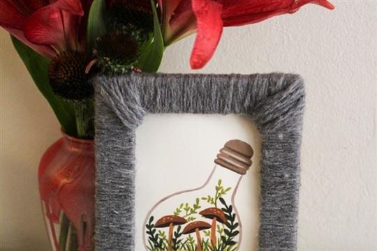 Yarn Wrapped Frames