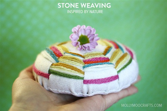 Weaving Crafts Stone Weaving