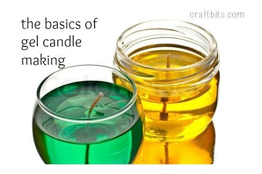 Basic Gel Candle Making