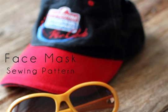Face Mask Free Sew Pattern