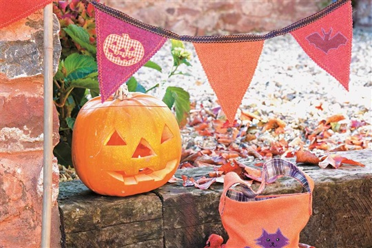 Halloween Treat Bag Project