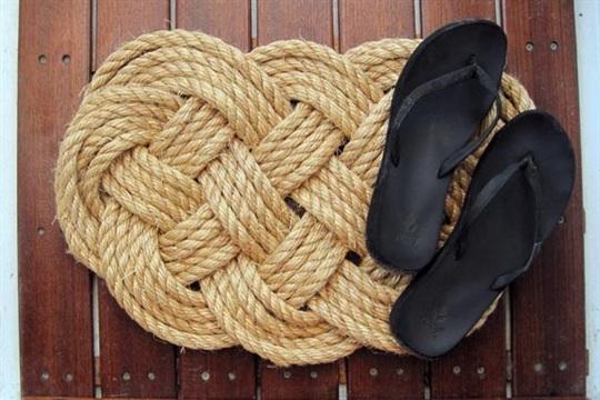 DIY Ocean Plait Rope Rug