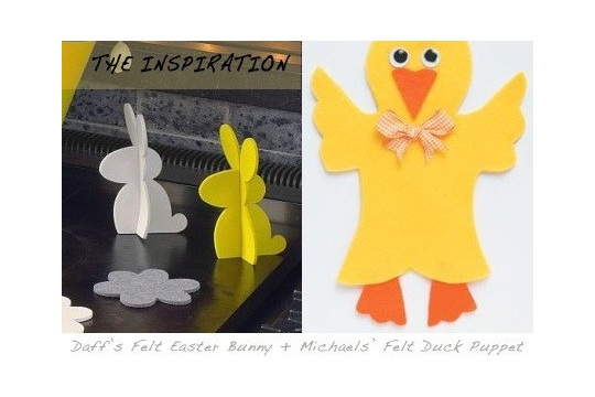 DIY Easter Bunny craft project