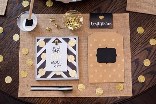 Mini Memo Board For a Girls Craft Night