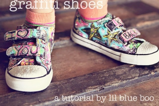 Graffiti Shoes (A Tutorial)