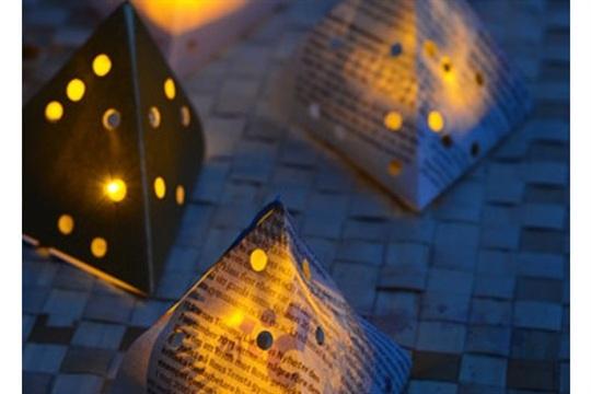 Paper Lanterns (with LED lights)