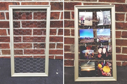 Instagram Frame DIY from Rivers and Roads Blog