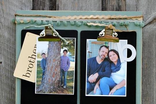 Clipboard Photo Display