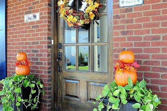 Easy Fall Planter (Outdoor Fall Dé cor)