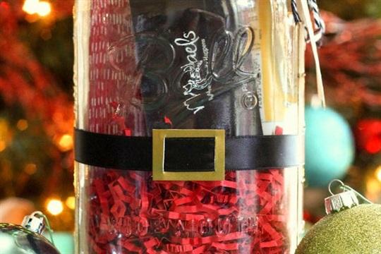 Santa Jar Gift