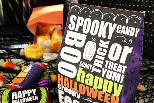 Halloween Bash Blog Hop and Halloween Candy Printables