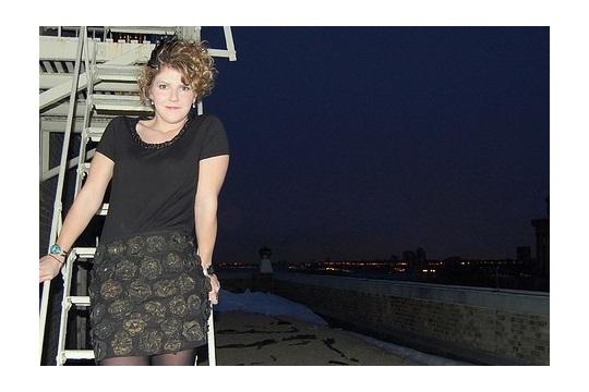 Fashion Week + Andy Warhol Skirt