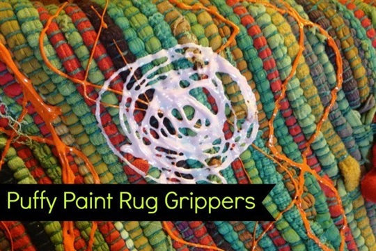 Puffy Paint Rug Grippers