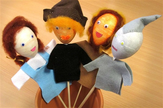 Wizard of Oz Stick Puppets