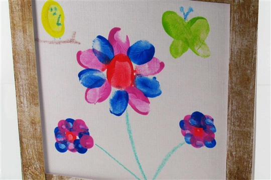Mothers Day Fingerprint Card