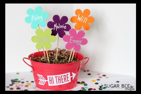 Mother's Day Craft Wooden Flower Bouquet SNAP!