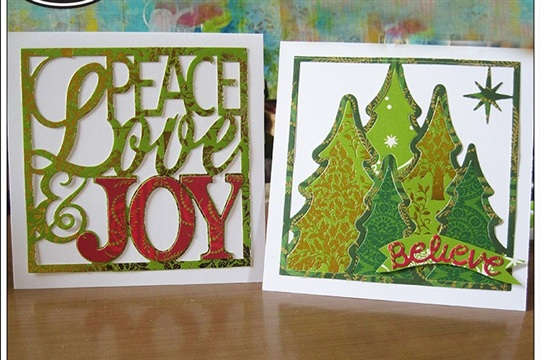 Quick Holiday Cards by Mou Saha